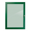 "30"" x 40"" Green Lockable Poster Case"