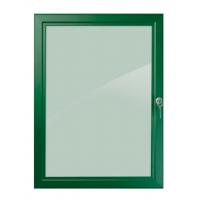 "30"" x 40"" Green Lockable Poster Case"
