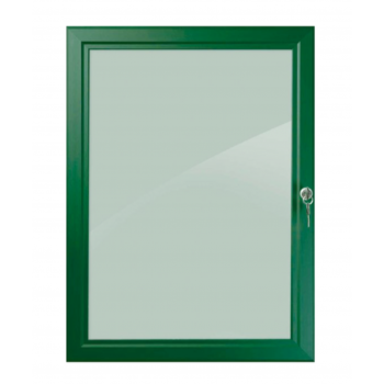 A2 Green Lockable Poster Case