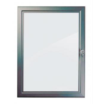 A0 Grey Lockable Poster Case