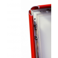 A1 Lockable Red Snap Frame, 32mm