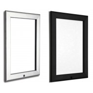 Locking Black and Silver 32mm Snap Frames