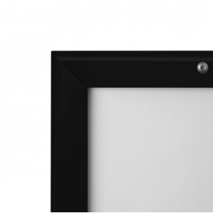 A0 Lockable Black 32mm Snap Frame