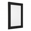 500mm x 700mm (B2) Black Lockable 32mm Snap Frame