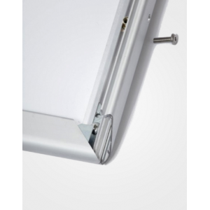 A0 Lockable Silver 32mm Snap Frame