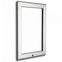 1000mm x 1400mm Lockable Silver 32mm Snap Frame