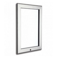 """20"""" x 30"""" Lockable Silver 32mm Snap Frame"""