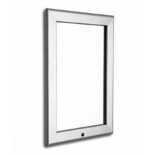 "30"" x 40"" Waterproof and Lockable Silver 32mm Snap Frame"