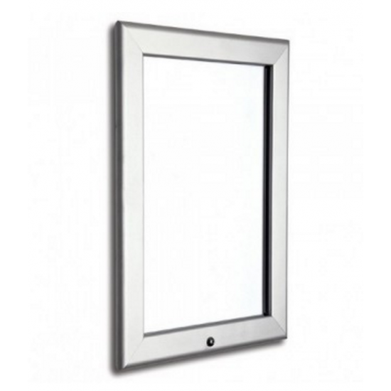20 x 30 Silver Lockable Snap Frame, 32mm from Snap Frames Warehouse