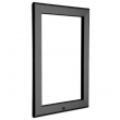 "20"" x 30"" Lockable Grey 32mm Snap Frame"