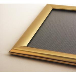A2 Polished Gold 25mm Snap Frame