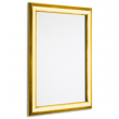 "30"" x 40"" Polished Gold 25mm Snap Frame"