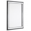 "30"" x 40"" Polished Silver 25mm Snap Frame"