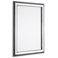 """20"""" x 30"""" Polished Silver 25mm Snap Frame"""