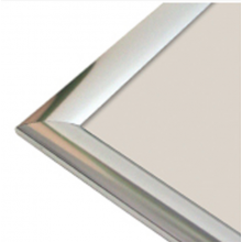A1 Polished Silver 25mm Snap Frame