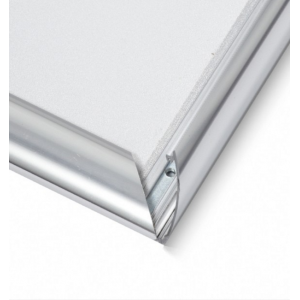 A4 Polished Silver 25mm Snap Frame
