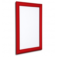 """20"""" x 30"""" Red 25mm Snap Frame"""