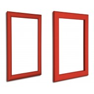 Red Snap Frames