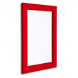 A1 Red Aluminium Snap Frame, 32mm