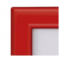 A0 Red 32mm Snap Frame