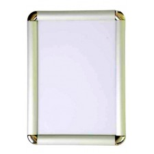 A4 Silver Round Corner Snap Frame, 30mm