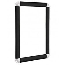 A1 Black Snap Frame, 30mm with Round Corners
