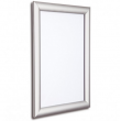 500mm x 700mm Silver Snap Frame, 25mm