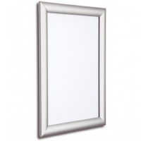 """20"""" x 30"""" Silver 25mm Snap Frame"""