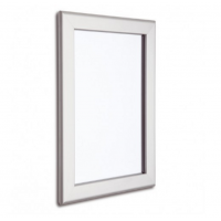 """30"""" x 40"""" Silver 32mm Snap Frame"""