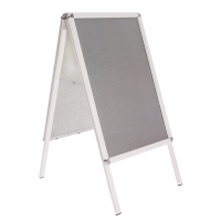 "20"" x 30"" Silver Snap Frame A Board"
