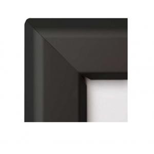 A0 Black Vandal Proof 44mm Snap Frame