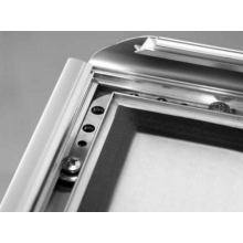A3 Waterproof and Lockable Silver 32mm Snap Frame