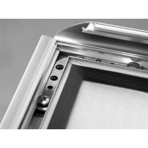 A0 Waterproof Silver 25mm Snap Frame