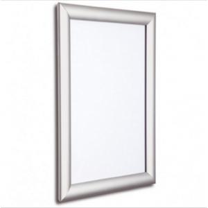 Window Silver 25mm Snap Frames