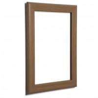 "30"" x 40"" Oak, Dark Wood Effect 32mm Snap Frame"