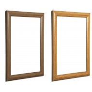 Wood Effect Snap Frames, Pine or Oak, 25mm