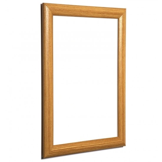 A0 Pine, Light Wood Effect Snap Frame, 25mm from Snap Frames Warehouse