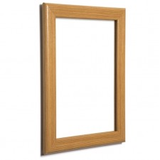 "40"" x 60"" Pine, Light Wood Effect 32mm Snap Frame"