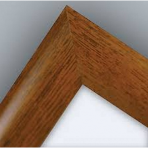 A0 Oak, Dark Wood Effect 32mm Snap Frame