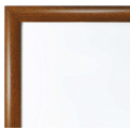 "30""x40"" Oak, Dark Wood Effect Snap Frame, 25mm"