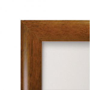 A0 Oak, Dark Wood Effect 25mm Snap Frame