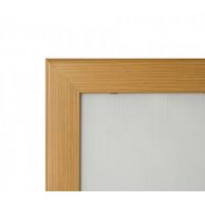 "20"" x 30"" Pine, Light Wood Effect 32mm Snap Frame"