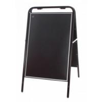 """20"""" x 30"""" Black Tubular A Board"""