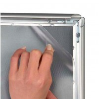 A0 Over Sized Replacement Anti Glare Cover Sheet for Waterproof Snap Frames