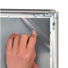 A1 Over Sized Replacement Anti Glare Cover Sheet for Snap Frames