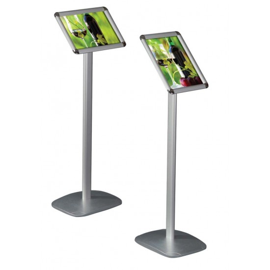 Kubik Exhibition Stand View : A menu column display stand landscape or portrait snap