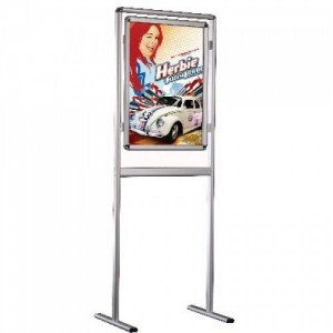 A1 Poster Display Stand, Double or Single Sided