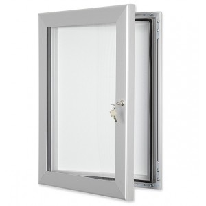 Custom Lockable Poster Cases