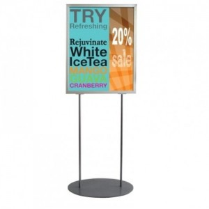 Double Sided Poster Display Stands