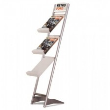 A4 Three Tier Brochure Stand